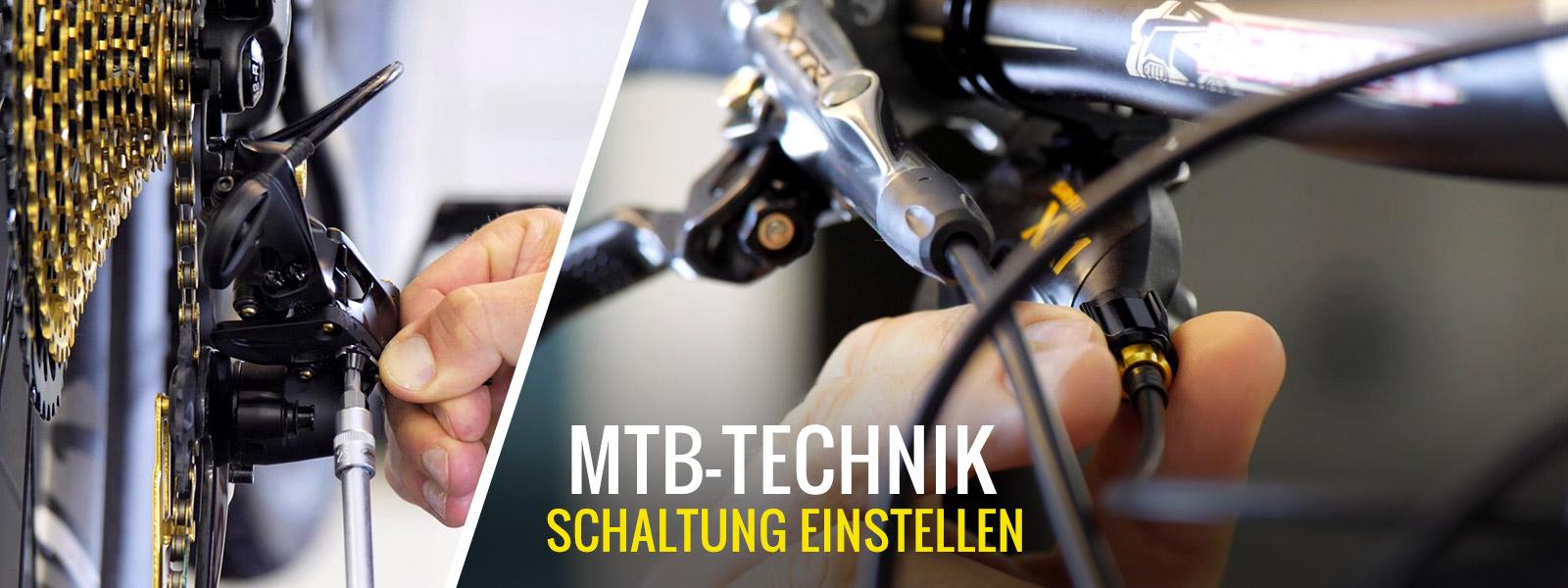 MTB Schaltung einstellen