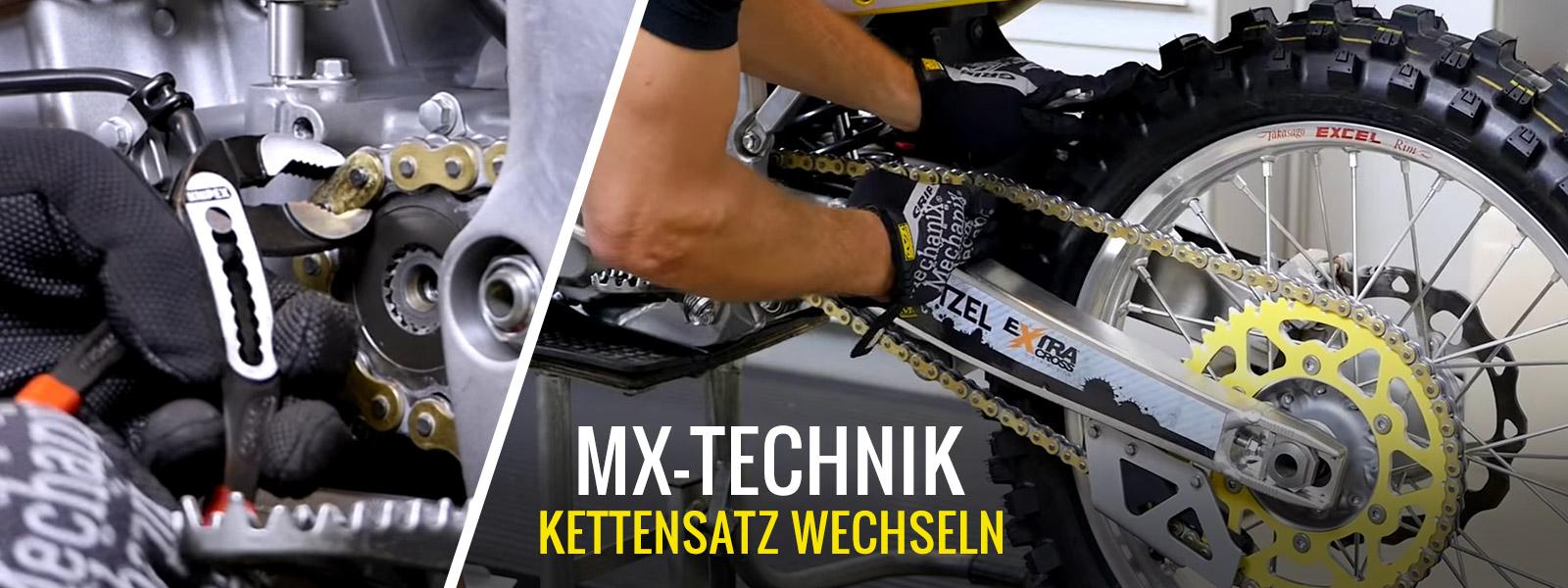 Motocross & Enduro Kettensatz wechseln
