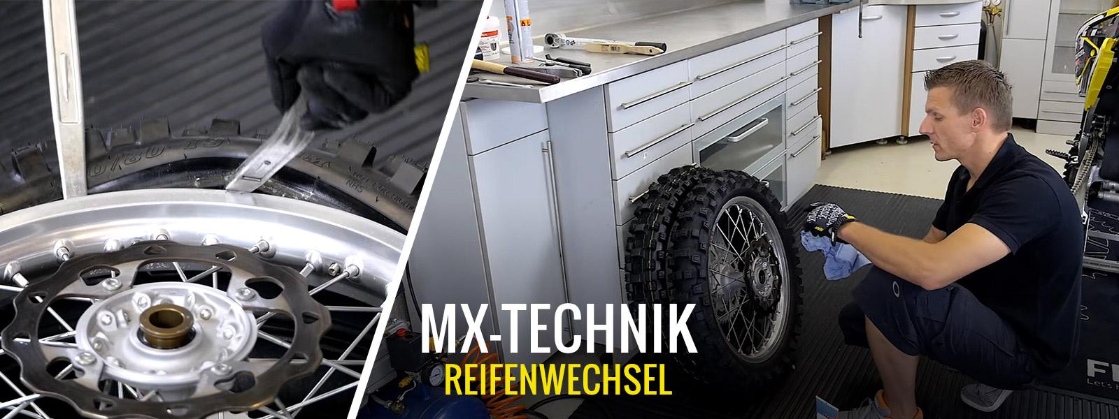 Motocros & Enduro - Reifenwechsel