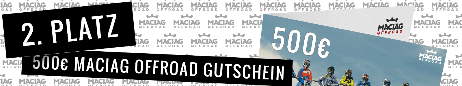 2. Platz MACIAG OFFROAD Gutschein