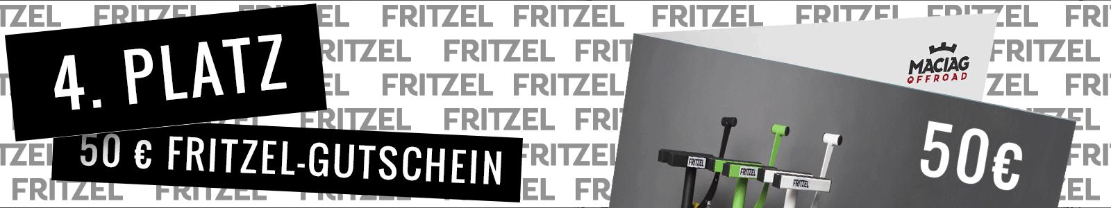 4. Platz FRITZEL Gutschein