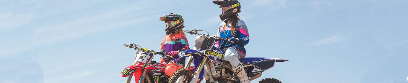 Motocross & Enduro Bekleidung für Frauen